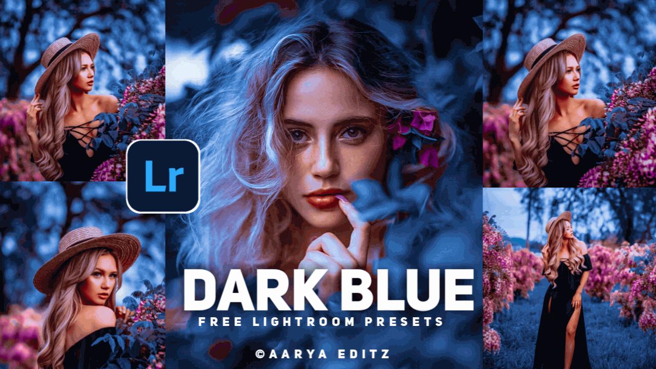 Dark Blue Lightroom Dng Preset Free Download-Lightroom ...
